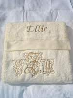 HAND TOWEL PLAIN COLOR WITH NAME